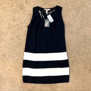 NWT Forever 21 black with white stripes dress